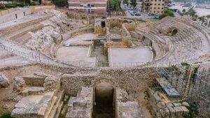 Anfiteatro de Tarragona, en excelente estado de conservación.