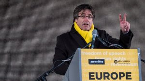 Carles Puigdemont, a Brusel·les