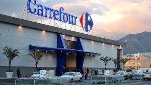 Carrefour registra altas pérdidas en sus acciones en el índice bursátil francés.