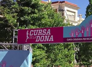 Cinquena edició de la Cursa de la Dona.