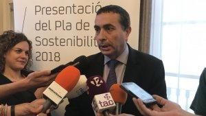 El director del Complex Industrial Repsol Tarragona, Josep Francesc Font
