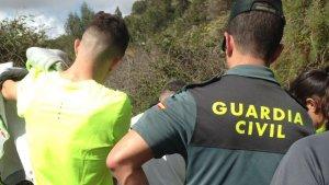El hombre ha sido encontrado metido en unas zarzas de un camino rural