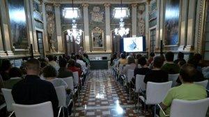 El Palau Bofarull ha acolit aquesta xerrada organitzada per 'Aspercamp'