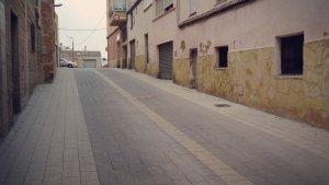 Finalitzen les obres de renovació del primer tram del carrer dels Horts de Constantí.