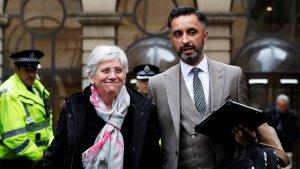 Imatge d'arxiu de Clara Ponsatí i el seu advocat Aamer Anwar.