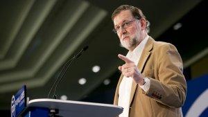 Imatge d'arxiu del president del govern espanyol, Mariano Rajoy.