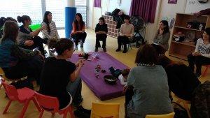 Imatge de l'edició «Créixer en família» celebrada a Piera el passat 11 de maig.