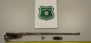 Imatge del fusell trobat