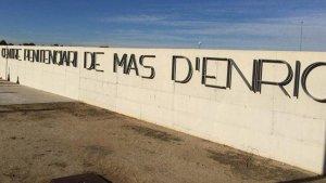 Imatge exterior del centre penitenciari de Mas d'Enric
