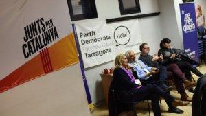 La darrera nit electoral, la del 21-D, es va viure al local del PDECat a l'avinguda de Catalunya de Tarragona.