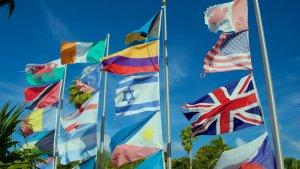 Las banderas más curiosas del mundo con su correspondiente nombre.