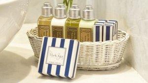 Las botellitas de jabón que se regalan en los hoteles