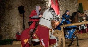 Imatges d'un torneig medieval