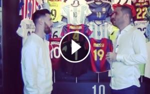 Messi, en una entrevista amb TyC Sports.