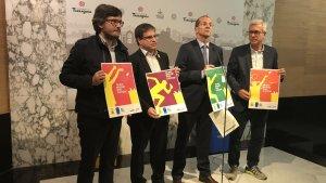 Presentació del conveni d'Ecoembes i els Jocs 2018