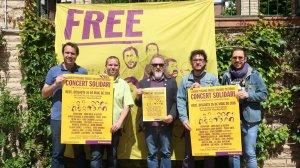 Prsentació del cartell del Concert per la Llibertat