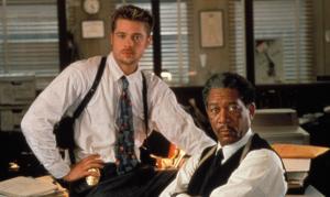 Seguro que conoces a estos dos actores famosos y su película titulada: Seven.