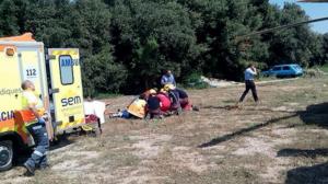 Tres morts al estavellar-se  una avioneta a la Ribera d'Ebre