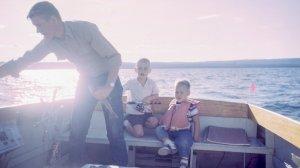 Un padre con dos hijos conforma una familia monoparentar.