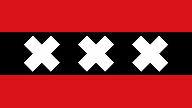 Bandera de Amsterdam.