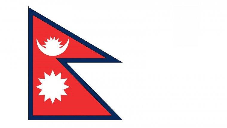 Bandera de Nepal.