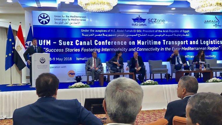 El Port de Tarragona es presenta com a cas d'èxit a la Mediterrània en una conferència a Egipte.