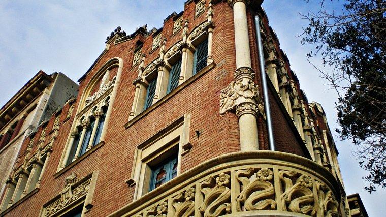 Façana de la Casa Rull de Reus.