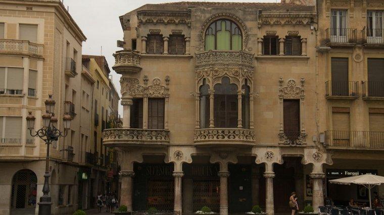 Imatge de la Casa navàs, a Reus