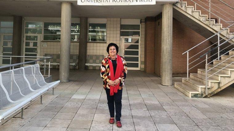 Imatge de la catedràtica de la URV, Maria José Figueras