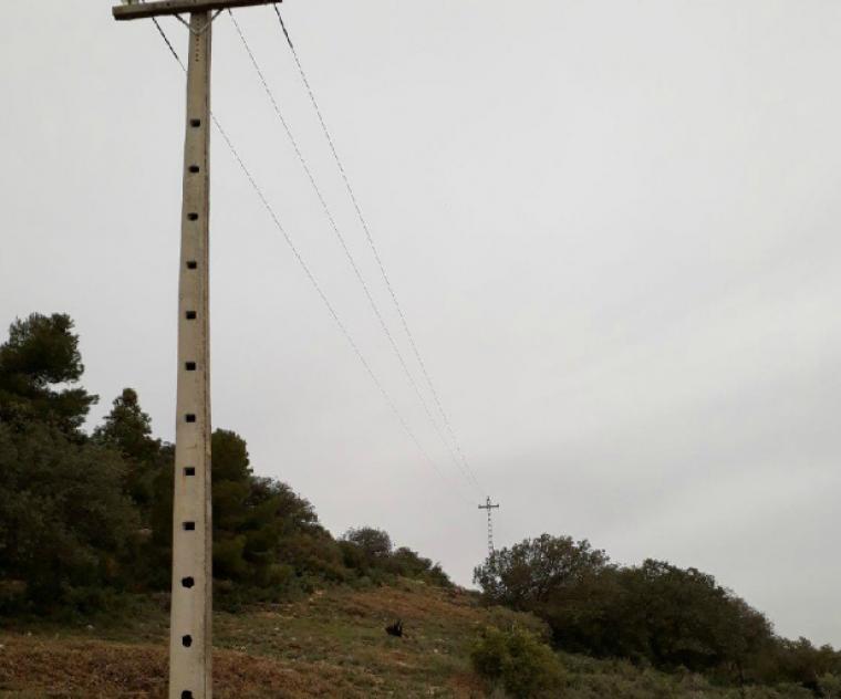 Imatge de la torre elèctrica