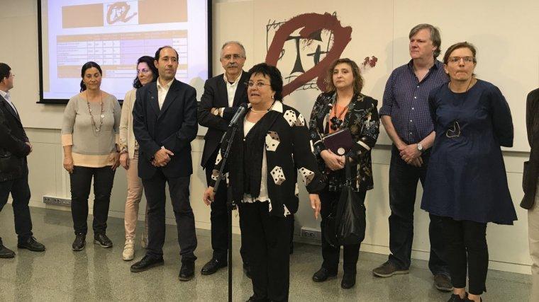 Maria José Figueras, nova rectora de la Universitat Rovira i Virgili.