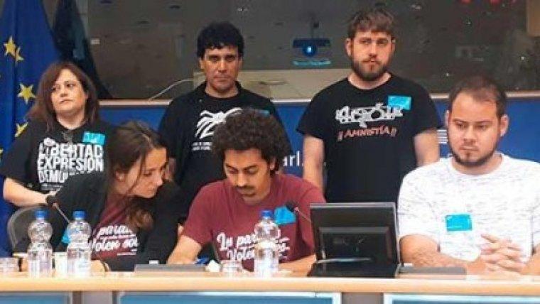 Portaveus del grup de suport a Valtonyc a l'Eurocambra