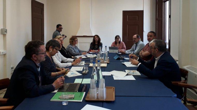 Reunió de la Taula d'Escolarització Municipal.