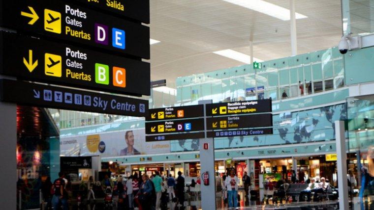 Terminal T1 de l'aeroport del Prat de Barcelona