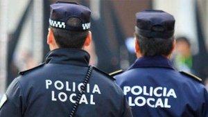Agentes de la Policía Local de Cádiz