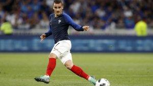 Antoine Griezmann, jugant amb França.