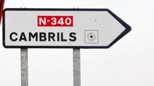 Cambrils, N-340,