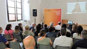 Càrrecs electes, militants, simpatitzants  i amics d'ERC a l'Alt Camp s'han reunit al Convent del Carme.