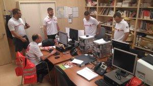 Creu Roja posa en marxa el Centre de Coordinació dels Jocs Mediterranis