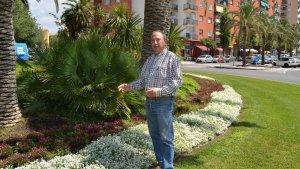 El regidor de Via Pública, Hipòlit Montseny, presenta els treballs de jardineria