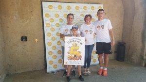En Genís i la seva família han presentat la 5a cursa solidària contra el càncer infantil