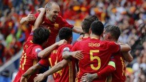 Imagen de archivo de la Selección Española.
