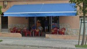 Imagen del bar que ha sido cerrado en Palma de Mallorca