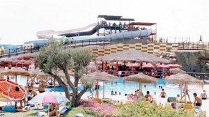 Imagen del parque acuático de Roquetas de Mar, Almería