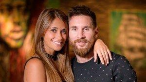 Imatge d'arxiu de Leo Messi i Antonella Roccuzzo.