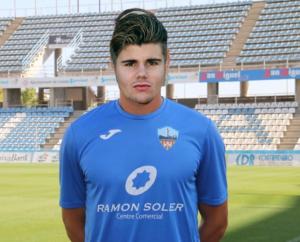 Imatge de la fotografia publicada on es pot veure al jugador amb tres orelles