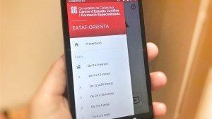 Imatge de la nova aplicació per ajudar els pares separats