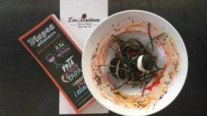 Imatge de la tapa guanyadora 'Oreo Bacoli' del restaurant Los Mañicos
