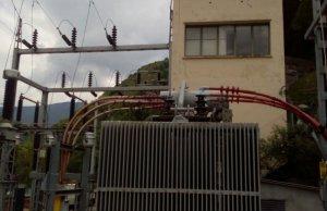 Imatge de les instal·lacions que la companyia Endesa ha millorat a la Val d'Aran