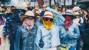 Imatge d'edicions passades del Correfoc infantil a Tarragona